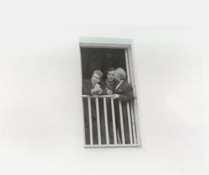 Con Cohen en casa Lorca