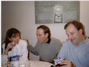 Los Mundano con Cristino de Vera en su casa