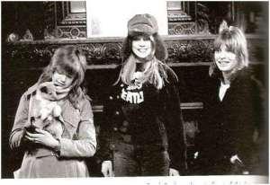 Con las hermanas Boyd