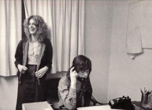 con Mick Jagger