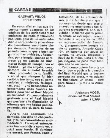 En 1982 Mi Padre Anunci Su Candidatura Al Real Madrid