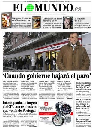 Rajoy El Mundo