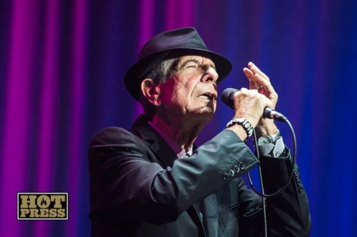 Leonard Cohen at the O2, Dublin