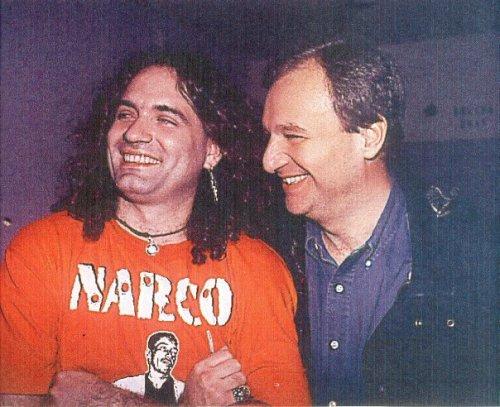 Con Fernando Medina