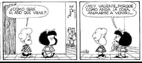 Mafalda año nuevo