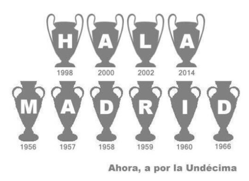 10 hala madrid