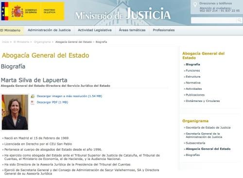Marta Silva de Lapuerta