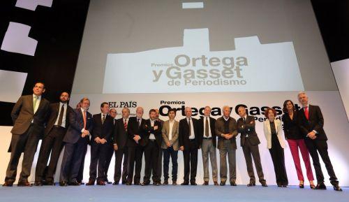 Entrega premios Ortega y Gasset