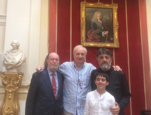 Joaquín, Diego y Pablo