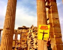 Acrópolis Erecteón anaranjado