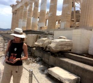 Bego mira Platón Partenón