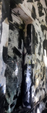 Grafiti blanco y negro