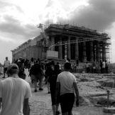 Partenón b&n