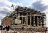 Partenón grua