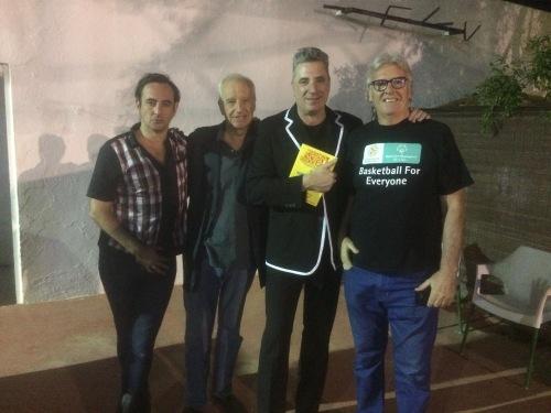 Igor Paskual, Loquillo , Vicente Paniagua Quintanar de la Orden