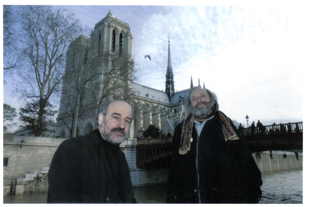 Fernando Aramburu y Francisco Javier Irazoki 2007
