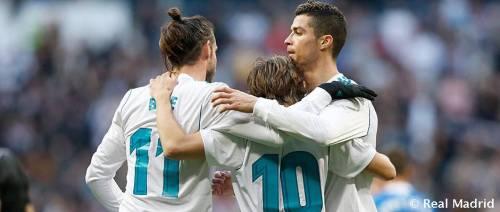 Bale, Modric, CR7