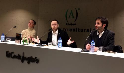 Ignacio del Valle, Juan Laborda y Jorge Freire