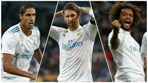 Varane, Sergio y Marcelo
