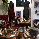 Bandoneón vestidos zapatos