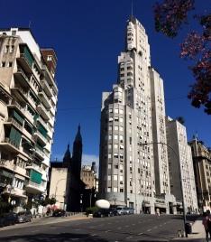 San Martín edificios e iglesia