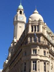 Zona Cabildo torre reloj campanario