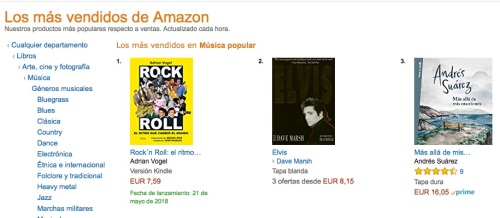 Amazon ebook nº 1 Música Popular copia