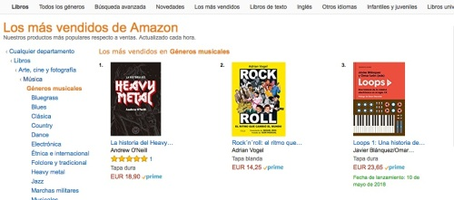 Amazon R'n'R nº 2 Gen Music