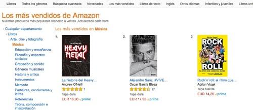 Amazon R'n'R nº 3 Música