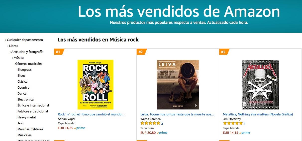 Amazon Rock 'n' Roll nº 1 Rock 180518