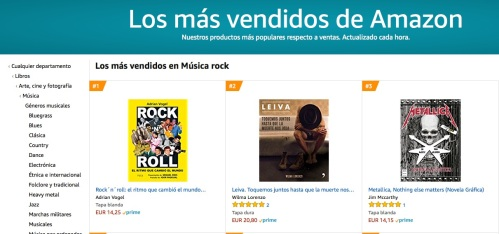Amazon Rock 'n' Roll nº 1 Rock 180518