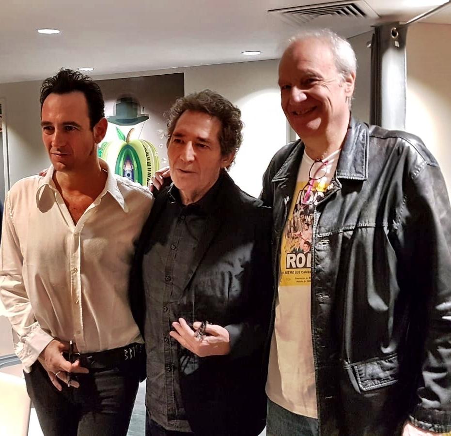 Con Igor y Miguel