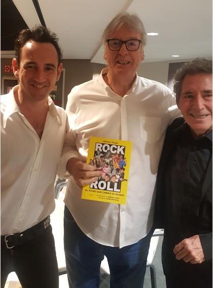 Igor Paskual, Vicente Paniagua y Miguel Ríos rec