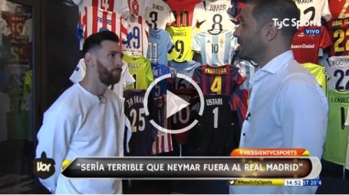 Messi Ney