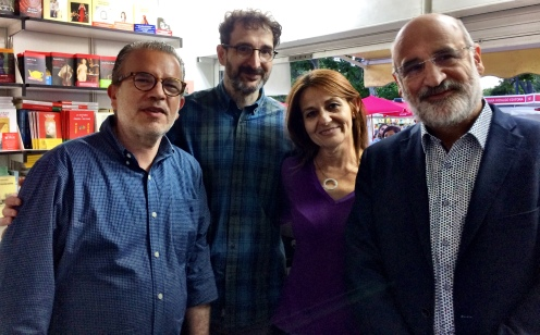 Antonio, Alberto, Inmaculada y Fernando
