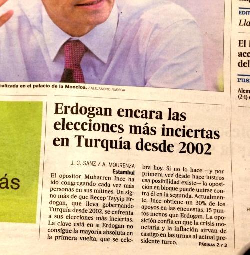 El País portada