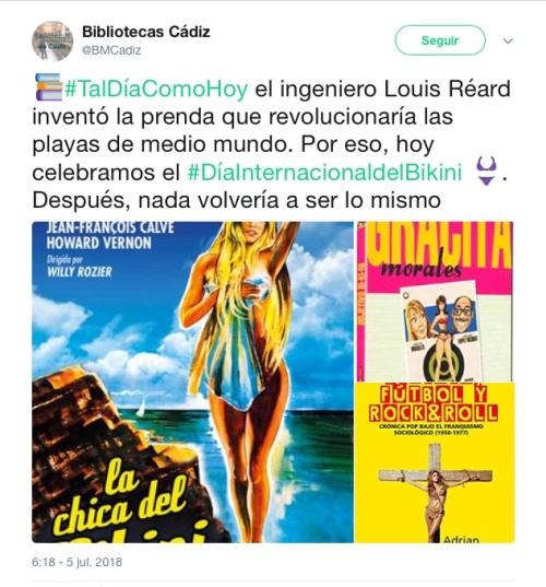 Bikinis Biblio Cádiz