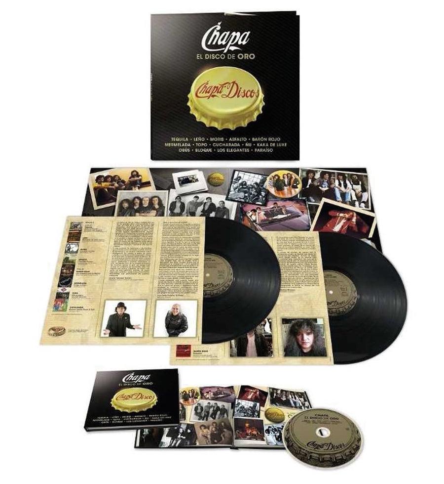 Chapa LP CD copia
