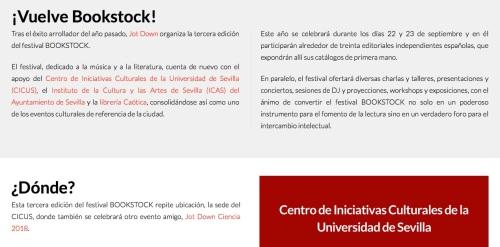Vuelve Bookstock