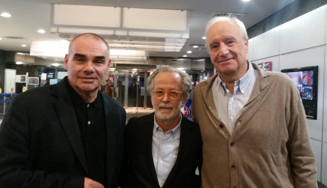 Con Roberto Oltra y Fernando Colomo