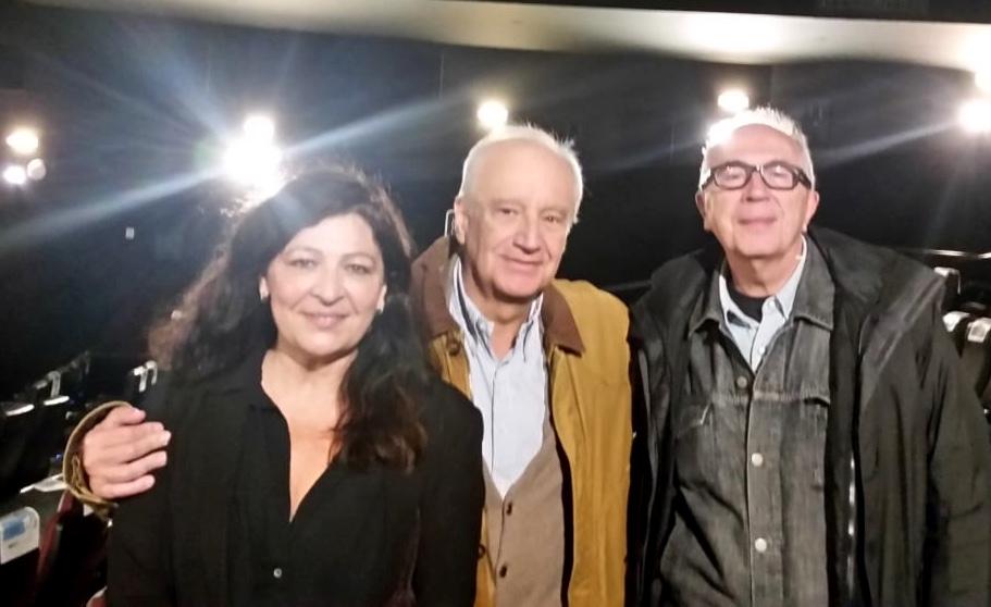 Con Susana López Corcuera y Jesús Ordovás