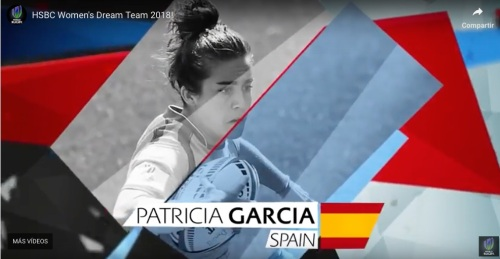 Patricia García dream team rugby 7