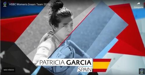 Patricia García dream team rugby 7