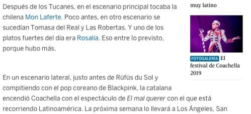Coachella texto El País 1