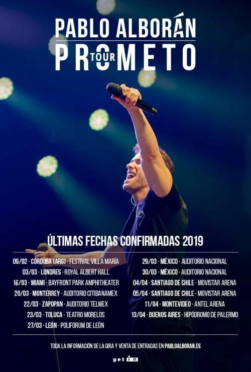 PA Prometo LAM tour
