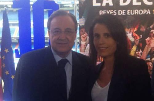 Florentino Perez Ana Rosell EFE El Confi