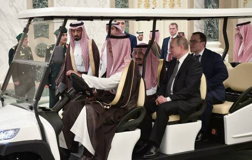 Russia President Putin on official visit to Saudi Arabia