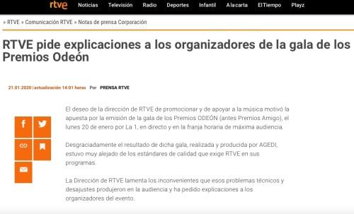 RTVE Odeón