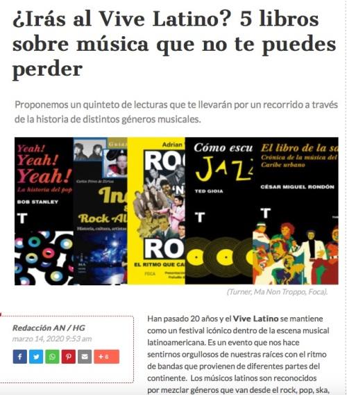 Vive Latino Mex