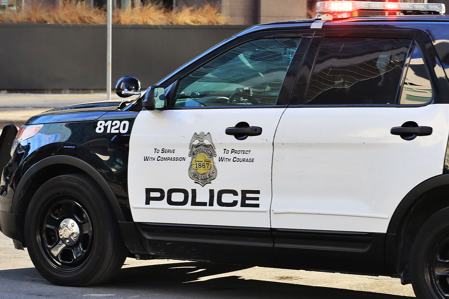 Police vehicle for the Minneapolis Police Department